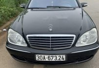 Bán ô tô Mercedes S350 năm 2004, màu đen, nhập khẩu  giá 580 triệu tại Tp.HCM