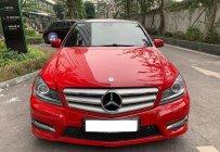 Bán Mercedes C300 AMG màu đỏ sản xuất 2012 biển Hà Nội giá 780 triệu tại Hà Nội
