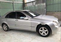 Bán Mercedes C200 đời 2002, màu bạc số sàn giá 200 triệu tại Tp.HCM