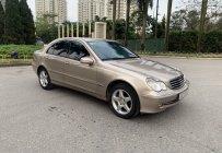 Bán Mercedes C240 năm sản xuất 2003, màu vàng giá 208 triệu tại Hà Nội
