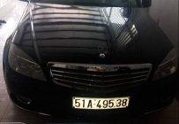 Bán Mercedes C250 sản xuất 2010, màu đen như mới   giá 520 triệu tại Đồng Nai