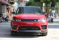 Bán LandRover Range Rover Sport HSE model 2019 màu đỏ, xe nhập mới 100% giá 5 tỷ 990 tr tại Hà Nội