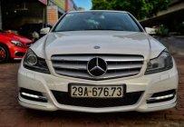 Bán xe Mercedes C200 năm sản xuất 2012, màu trắng, động cơ Eco mới, đăng ký 2013 giá 699 triệu tại Hà Nội