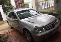Bán Mercedes C180 2001, màu bạc, xe còn đẹp, bảo dưỡng định kỳ giá 210 triệu tại Khánh Hòa