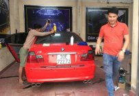 Bán BMW 318i đời 2004, màu đỏ, nhập khẩu   giá 250 triệu tại Hà Nội