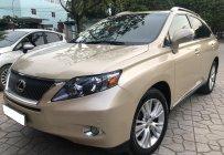 Bán xe Lexus RX450H nhập Mỹ, sản xuất 2010. Xe màu vàng cát, nội thất màu kem giá 1 tỷ 480 tr tại Hà Nội
