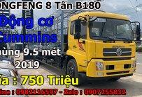 Gía xe tải 8 tấn DONGFENG HOÀNG HUY B180 thùng dài 9,7 mét 2019  giá 950 triệu tại Tp.HCM