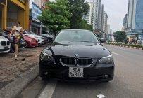 Bán xe BMW 5 Series 525i 2007, màu đen, xe nhập, giá 375tr giá 375 triệu tại Hà Nội