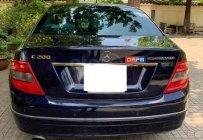 Bán ô tô Mercedes C200 - 2008, màu xanh đen, biển TP, 385 triệu giá 385 triệu tại Tp.HCM