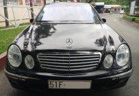 Bán Mercedes E240 class 2003, màu đen, xe nhập, giá tốt, biển SG giá 260 triệu tại Tp.HCM