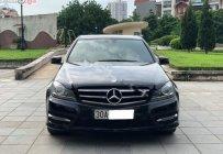 Cần bán gấp Mercedes C200 năm 2013, màu đen số tự động giá 720 triệu tại Hà Nội