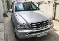 Bán Mercedes ML500 tự động 2003, ĐK 2006, màu bạc, xe chính chủ giá 316 triệu tại Tp.HCM