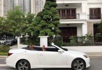 Bán xe Lexus IS 250c mui trần sản xuất 2012, màu trắng, độc nhất Việt Nam giá 1 tỷ 520 tr tại Hà Nội
