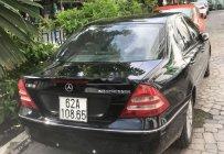 Bán Mercedes C200 Kompressor năm 2001, màu đen, xe nhập giá 180 triệu tại Tp.HCM
