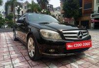 Bán xe Merc C200 SX 2007 màu đen - nội thất đen giá 385 triệu tại Hà Nội