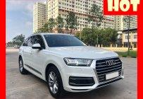 Bán xe Audi Q7 2.0 Model 2018 màu trắng, nội thất đen nhập khẩu, trả trước 600 triệu nhận xe ngay giá 2 tỷ 889 tr tại Tp.HCM