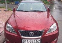 Bán Lexus IS 250 sản xuất năm 2011, màu đỏ, nhập khẩu giá 550 triệu tại Bình Dương