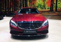 Bán Mercedes C200 Exclusive năm 2019, màu đỏ, 1 chiếc duy nhất giá 1 tỷ 640 tr tại Bắc Ninh