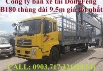 Xe tải DongFeng B180 thùng dài 9m5. Xe tải Dongfeng 8 tấn thùng dài 9m5. Xe DongFeng B180 giá 990 triệu tại Tp.HCM