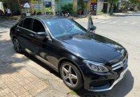 Bán Mercedes-Benz C300 AMG, đời 2017 màu đen, nội thất đỏ giá 1 tỷ 400 tr tại Tp.HCM