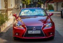Bán ô tô Lexus IS250 C đời 2010, màu đỏ, nhập khẩu nguyên chiếc giá 1 tỷ 289 tr tại Hà Nội