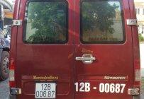 Cần bán gấp Mercedes Sprinter đời 2010, màu đỏ, xe nhập, 355tr giá 355 triệu tại Lạng Sơn