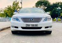Cần bán Lexus LS 460L đời 2010, màu trắng, xe nhập giá 2 tỷ 100 tr tại Hà Nội