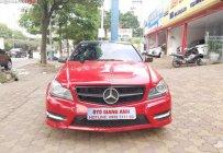 Cần bán lại xe Mercedes C300 AMG sản xuất năm 2014, màu đỏ giá 840 triệu tại Hà Nội