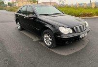 Bán Mercedes C200 năm 2002, màu đen số sàn, 159tr giá 159 triệu tại Hải Phòng