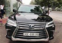 Bán ô tô Lexus LX 570 năm 2016, màu đen, nhập khẩu chính hãng giá 6 tỷ 550 tr tại Hà Nội