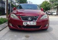 Bán xe Lexus IS 250 đời 2007, màu đỏ, nhập khẩu nguyên chiếc, 680tr giá 680 triệu tại Hà Nội