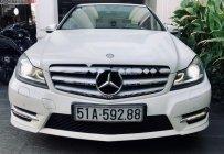 Cần bán xe Mercedes C300 AMG năm 2012, màu trắng  giá 750 triệu tại Tp.HCM