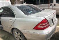 Cần bán gấp Mercedes C200 năm 2002, màu bạc, số sàn giá 140 triệu tại Tp.HCM