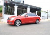 Cần bán xe Mercedes Benz C200 sản xuất 2011, màu đỏ xe gia đình giá 565 triệu tại BR-Vũng Tàu