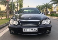 Cần bán Mercedes C180 2004, màu đen, chính chủ giá 215 triệu tại Hà Nội