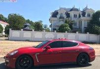 Bán xe Porsche Panamera 4S năm 2010, màu đỏ, xe nhập giá 1 tỷ 590 tr tại Tp.HCM