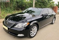 Cần bán lại xe Lexus LS 460L sản xuất 2008, màu đen, nhập khẩu giá 1 tỷ 150 tr tại Tp.HCM