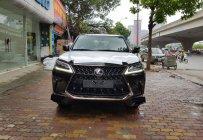 Bán nhanh chiếc xe Lexus LX570 Black Edition, sản xuất 2019, màu đen, nhập khẩu nguyên chiếc giá 9 tỷ 430 tr tại Hà Nội