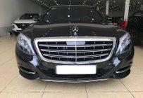 Bán Mercedes S400 Maybach màu đen, nội thất nâu. Xe sản xuất 2016, đăng ký 2017 tên tư nhân 1 chủ đi từ đầu giá 4 tỷ 800 tr tại Hà Nội
