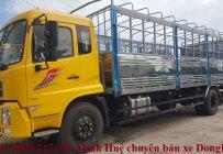 Xe tải DongFeng B180 Hoàng huy nhập khẩu 2019 Euro 5 thùng bạt 7m5 tải trọng 9Tấn giá 990 triệu tại Đồng Nai
