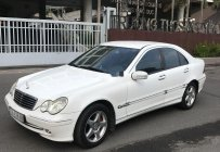 Bán ô tô Mercedes C class đời 2004, màu trắng giá 266 triệu tại Tp.HCM