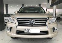 Bán Lexus LX570 màu vàng cát, xe bản xuất Mỹ sản xuất 2014, đăng ký 2016 giá 4 tỷ 390 tr tại Hà Nội