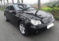Bán xe Mercedes C200 đời 2002, màu đen số tự động giá 175 triệu tại Hải Phòng