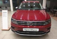 Cần bán xe Volkswagen Tiguan Allspace, màu đỏ, xe Đức nhập khẩu chính hãng, đang tặng trước bạ 207tr giá 1 tỷ 729 tr tại Tp.HCM