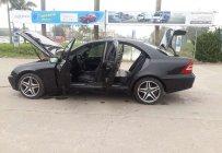 Cần bán lại xe Mercedes C180 đời 2002, màu đen giá cạnh tranh giá 179 triệu tại Hà Nội