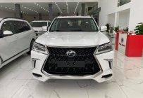 Lexus LX570 Super Sport sản xuất 2020, nhập trung đông,màu trắng,nội thất nâu,xe giao ngay. giá 9 tỷ tại Tp.HCM