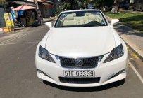 Bán Lexus IS 250C sản xuất năm 2010, màu trắng, nhập khẩu nguyên chiếc chính chủ giá 1 tỷ 130 tr tại Tp.HCM
