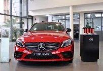 Cần bán xe Mercedes C300 AMG sản xuất năm 2020, màu đỏ giá 1 tỷ 929 tr tại Tp.HCM