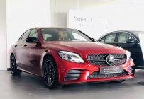 Bán gấp Mercedes C300 AMG 2020, màu đỏ, xe lướt chính hãng giá 1 tỷ 750 tr tại Tp.HCM