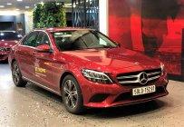 Cần bán Mercedes C180 2020, màu đỏ, đi lướt chính hãng giá 1 tỷ 350 tr tại Tp.HCM